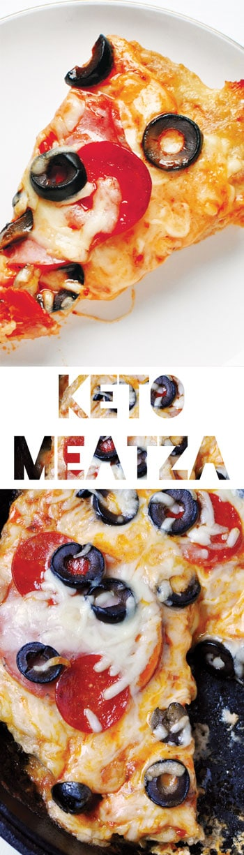 Keto Pizza - Turkey Crust Meatza [Recipe]