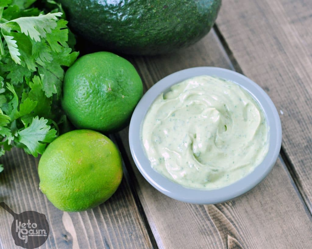 Cilantro Lime Avocado Mayonnaise Recipe