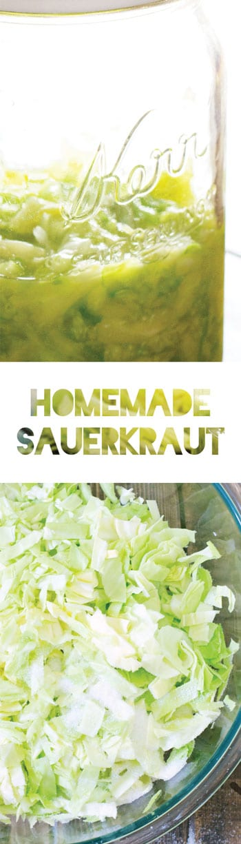 Homemade Sauerkraut Recipe