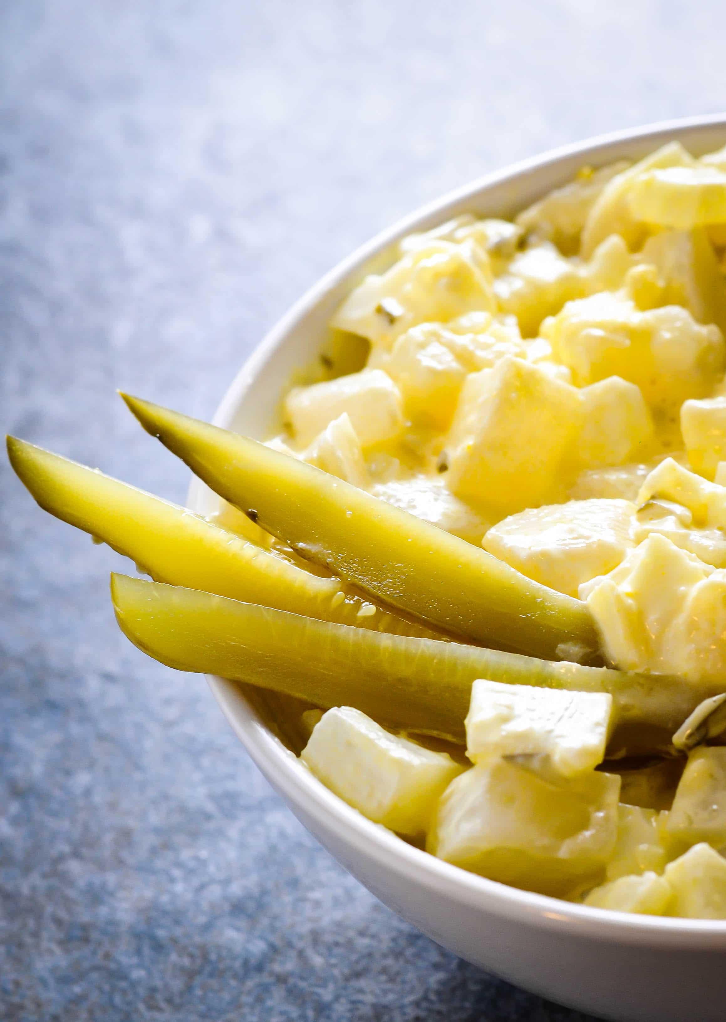 Low Carb Potato Salad Recipe - Turnip instead of potato