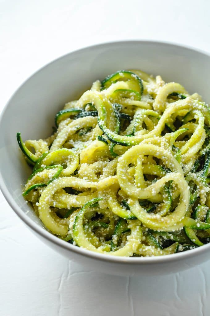 Browned Butter & Mizithra Cheese Zucchini Noodles [Recipe] | KETOGASM #keto #ketogenic #ketosis #diet #recipes #zoodles #atkins #lowcarb #mizithra #cheese #browned #butter #zucchini #noodles #spaghetti #factory