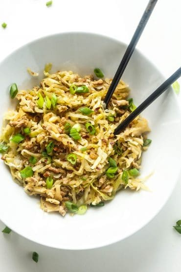 Keto Egg Roll in a Bowl [Recipe]