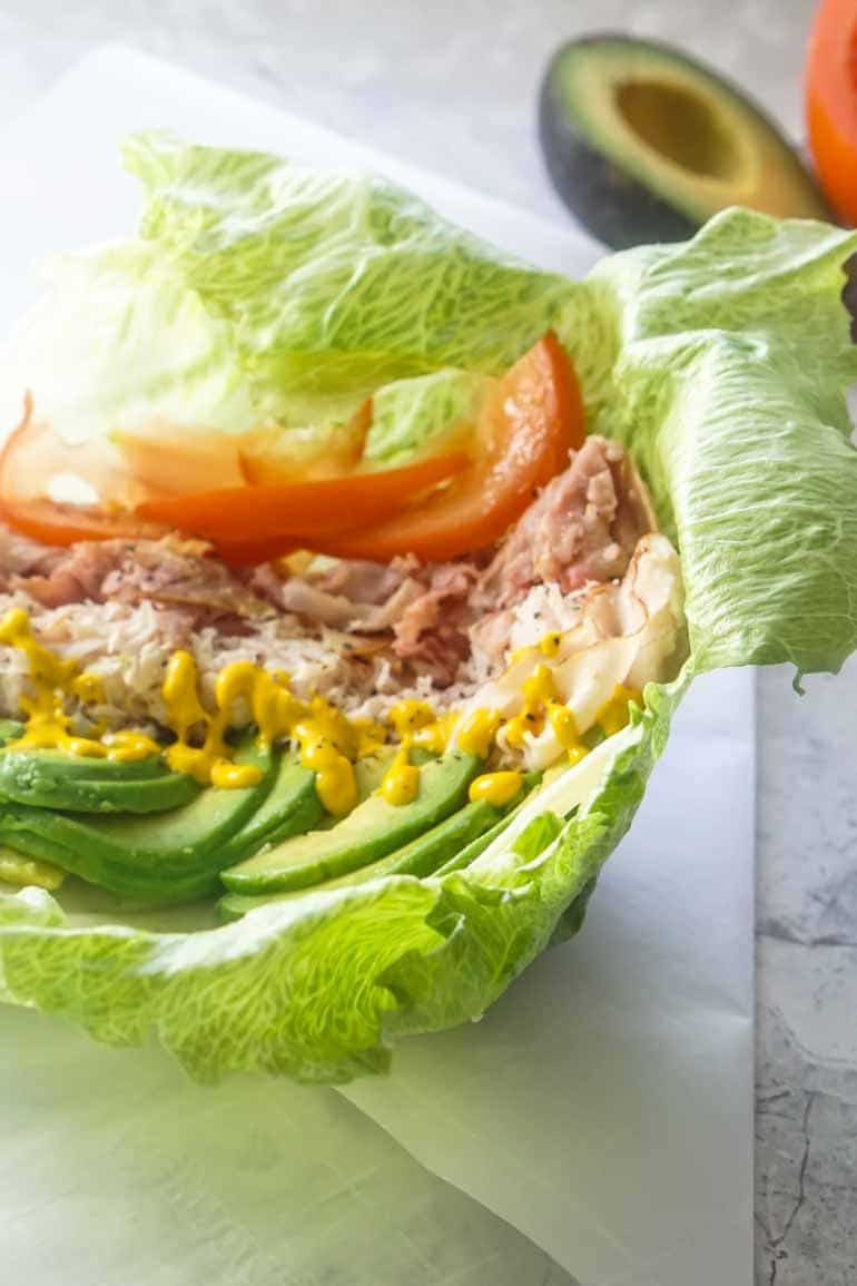 Unwich Lettuce Wrap Sandwich [Recipe]