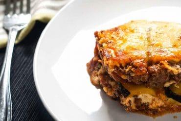 Keto Lasagna Recipe   Zucchini Noodles   Low Carb   Atkins