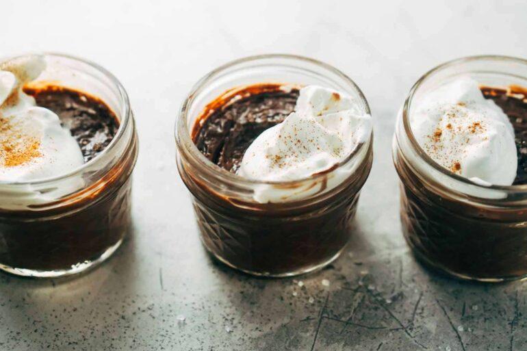 Keto Dessert Recipe - Chocolate Pots de Créme