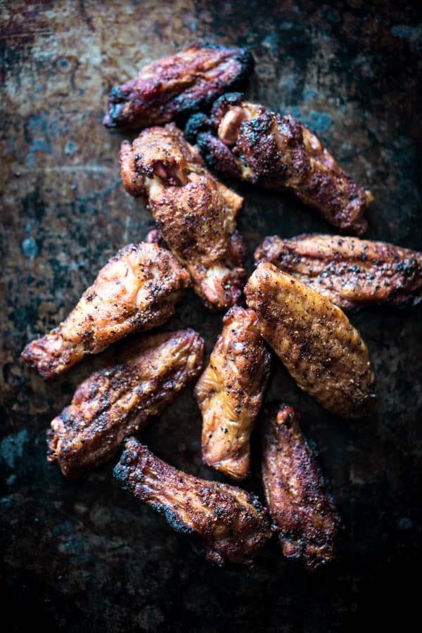 Keto Chicken Wings Recipe Smoked with Dry Rub