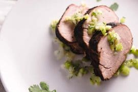 Smoked Pork Tenderloin with Low Carb Dry Rub - Keto, Sugar-free, Gluten-free