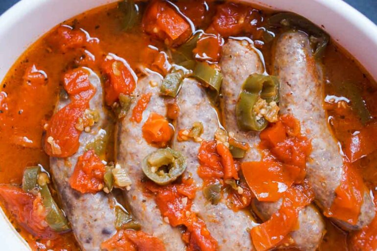Spicy Chicken Sausage Recipe Low Carb Gluten Free Ketogasm