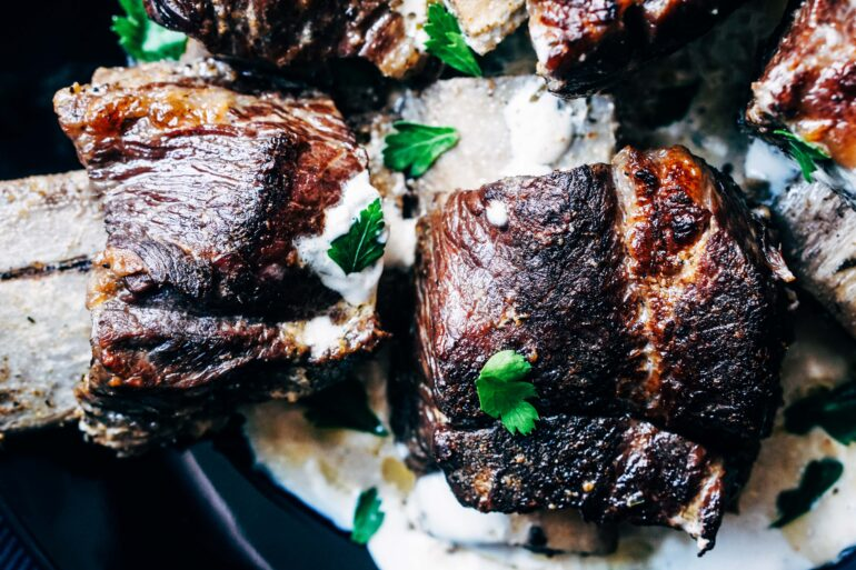 Low Carb Beef Short Ribs Recipe - Keto Crockpot Recipe