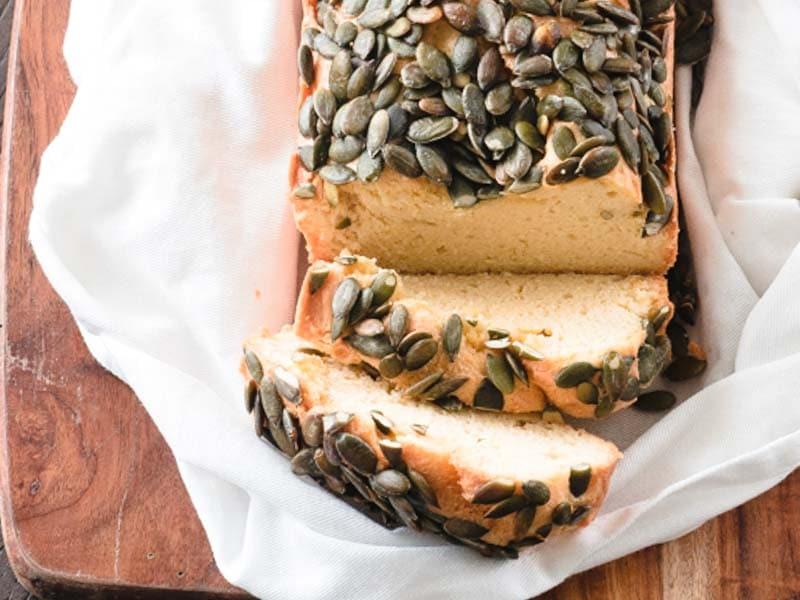 Keto Bread With Pumpkin Seeds Recipe Ketogasm