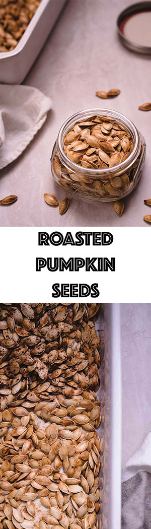 Roasted Pumpkin Seeds Recipe with Ghee & Sea Salt - Low Carb, Dairy-Free, Keto Friendly