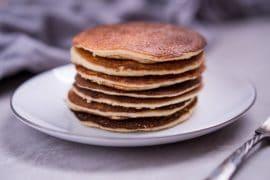 Keto Pancakes Recipe with Almond Flour - Low Carb, Gluten Free, & Fluffy!