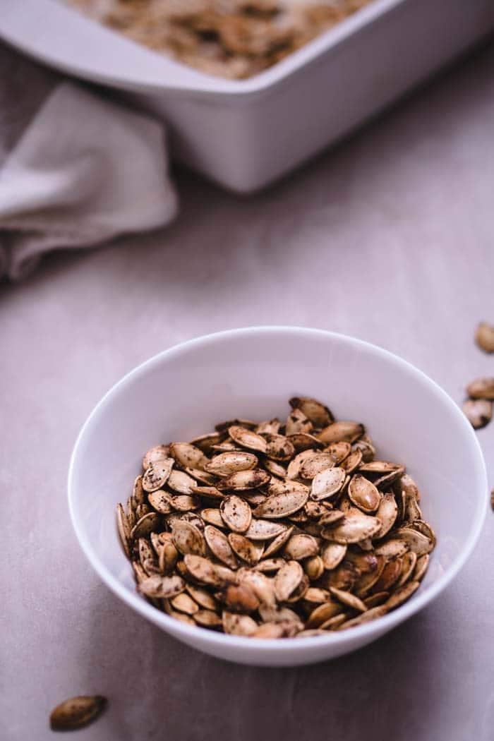 Spicy Pumpkin Seeds - Keto Friendly Snack