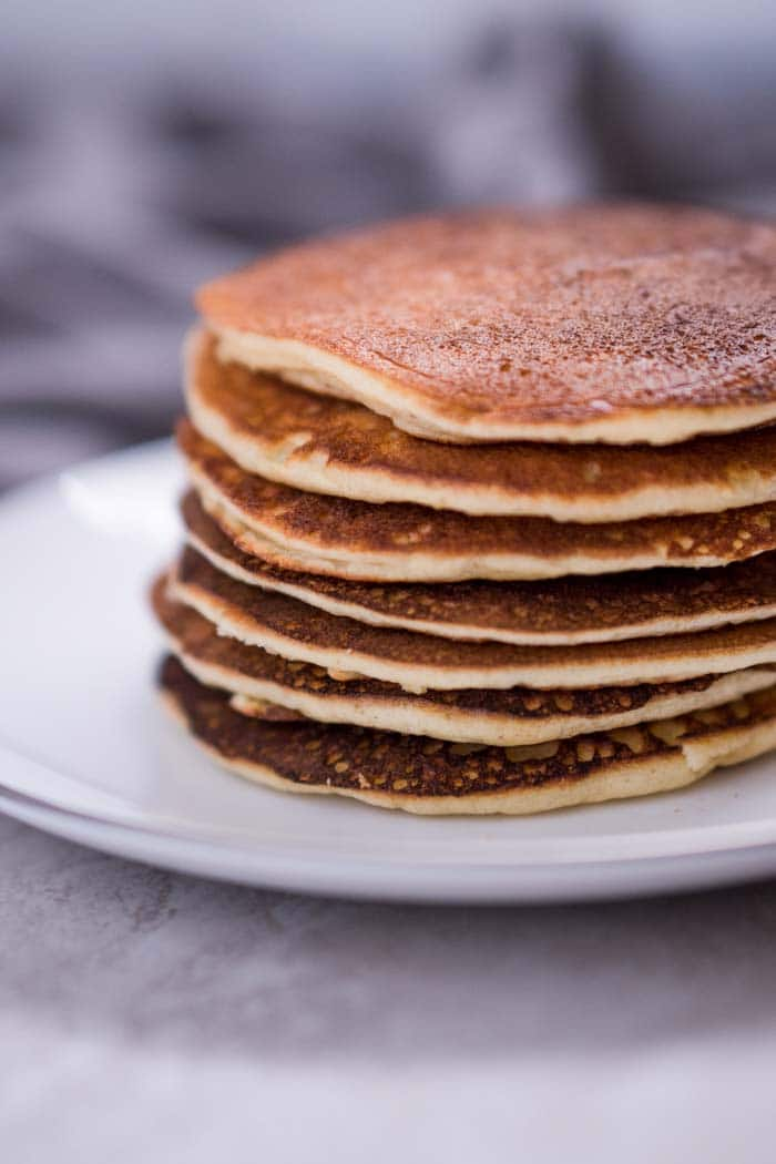 Keto Pancakes Recipe with Almond Flour - KETOGASM