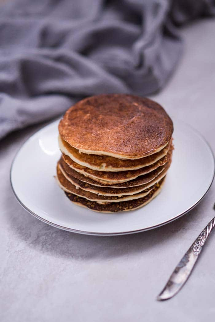 Keto Pancakes with Almond Flour Recipe