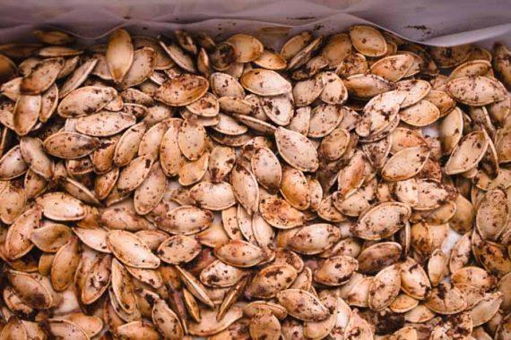 Masala Spiced Pumpkin Seeds Recipe