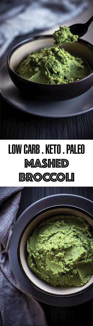 Mashed Broccoli Recipe - Low Carb Vegetable Mash, Keto & Paleo Friendly
