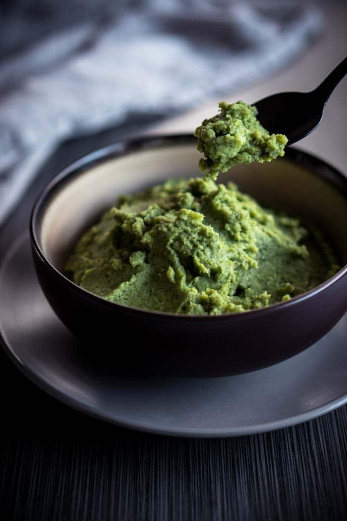 Dairy Free Mashed Broccoli Recipe - Paleo Vegetable Mash