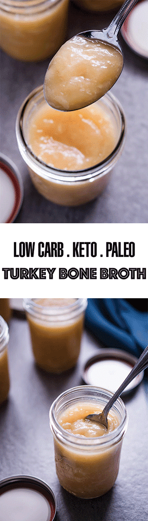 Keto Turkey Bone Broth Recipe: Low Carb & Paleo