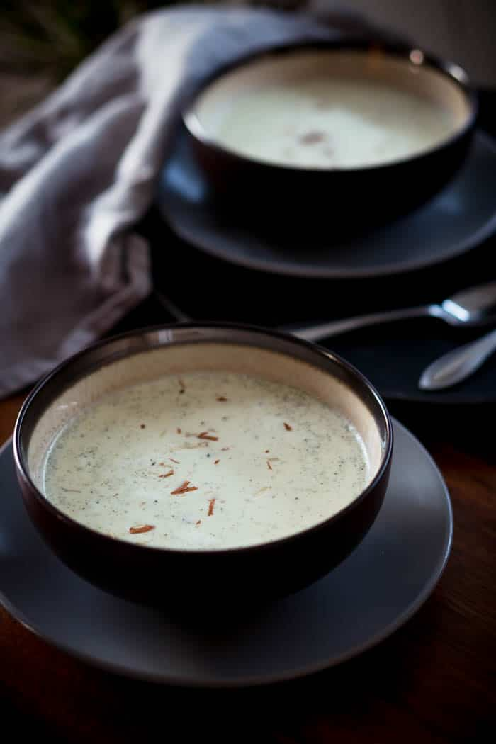 Low Carb Keto Broccoli & Goat Cheese Soup Recipe - Gluten Free