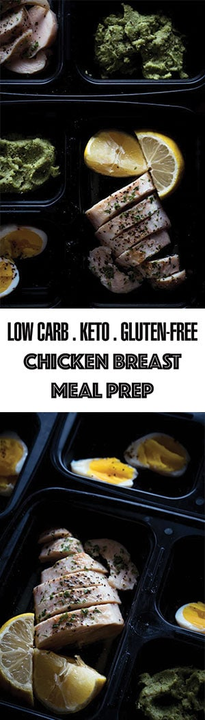 Keto Chicken Breast Meal Prep Ideas - Low Carb Lemon Butter Chicken