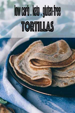 Keto Tortillas with Psyllium Husk & Nutritional Yeast - Low Carb & Gluten-Free