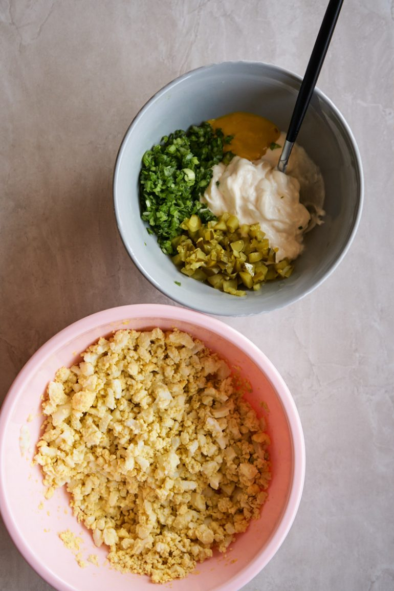 How to make keto egg salad