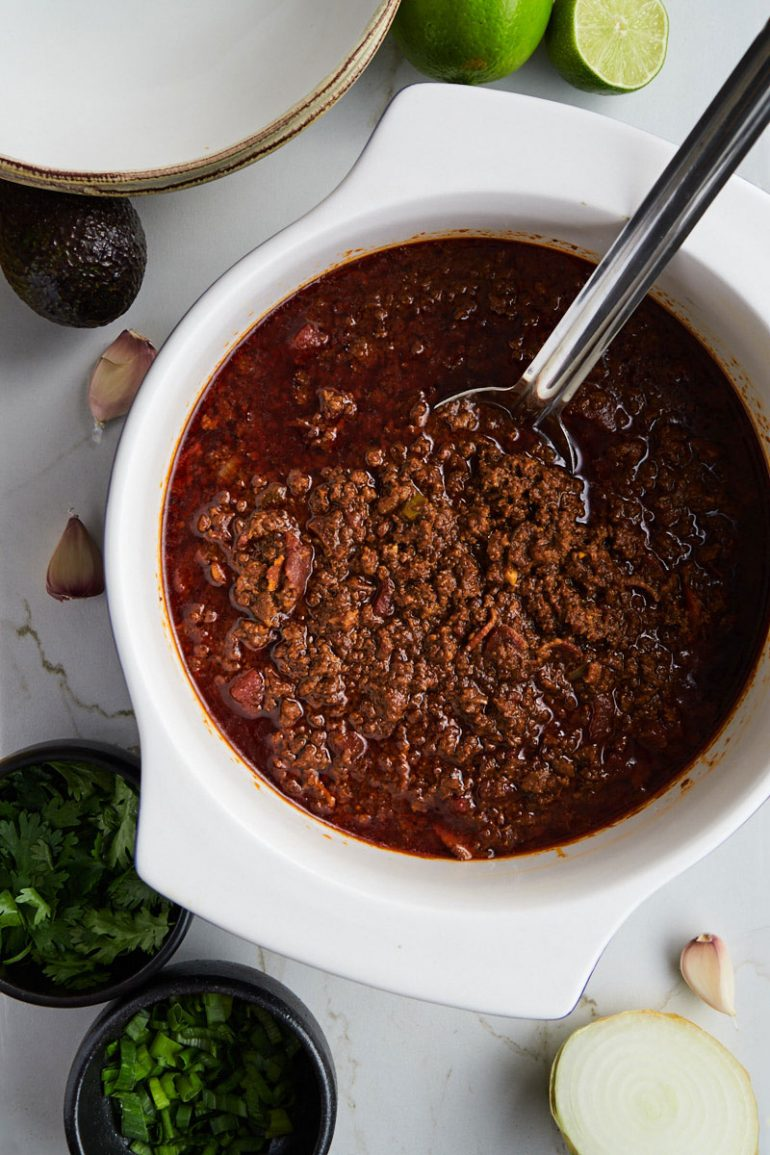 What is a good substitution for beans in chili - Keto Low Carb Chili without beans